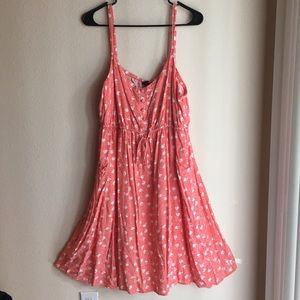 Cute Torrid Coral Summer Dress